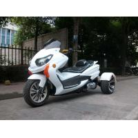 8HP Tri Wheel Motorcycle , Electric Start 150cc Scooter With Windshield