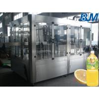 Fully Automatic Milk / Tea Hot Filling Machine , 5000bph Bottle Filling Equipment