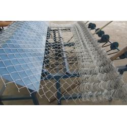 China Anping Aowei Galvanized Pvc Coated Chain Link