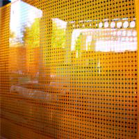 Construction perforated metal sheet punching hole panels