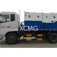 XCMG Dumping Trucks / Garbage Dump Truck , XZJ5120ZLJ For Collect And Forward The Refuse