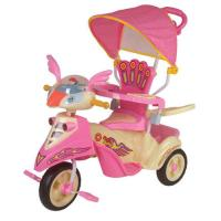 Big Wheel Pink Baby Smart Trike Children Tricycle Autosteer Parent Control