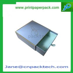 China Custom Printed Colorful Rigid Cardboard Boxes Gift Boxes Drawer Type Boxes  Paper Box on sale