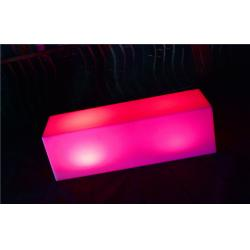 China Waterproof LED Bar Furniture 4000Mah Lithium Battery ,  Long LED Bench on sale