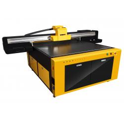 China Large Format Indoor UV Flatbed Printer With High Precision 2.5x1.3m on sale