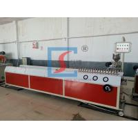Water Supply Profile Extrusion Line PVC / UPVC SJSZ-65 For Doors And Windows