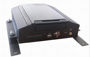 Bus Surveillance Real Time 4CH Full D1 h.264 HDD Vehicle CCTV DVR , 3G GPS Mobile DVR