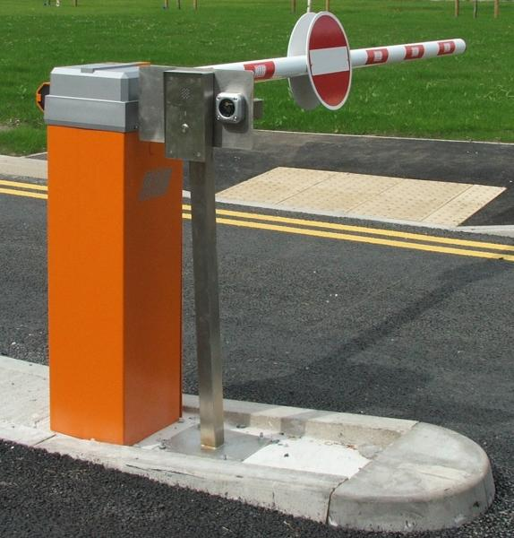 Automatic traffic barrier pedestrian security gates
