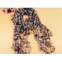 Ladies 2013 new Fashion 100% pure silk Scarf/black and grey scarves shawl for women