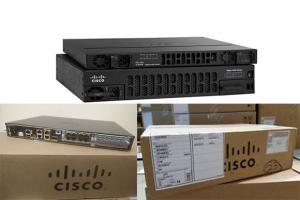 High End Isr 4431 Cisco Network Router With 4 Onboard GE , 3 NIM Slots ISR4431/K9