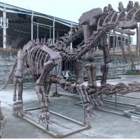 Artificial dinosaur fossil model