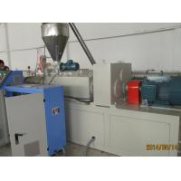 Fire-Proof Wpc Profile Extrusion Line With Electrical Control System