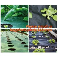4 foot wide 1x10m/roll landscape anti weed fabric non woven professional organic strawberry weed control fabric BAGEASE