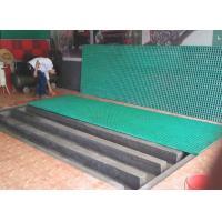 Durable Fiberglass Deck Grating, Rust Proof Car Wash Floor Plastic Walkway Mesh