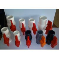 """UPVC ball valves and pipe fittings size  ½, ¾, 1 ¼, 1 ½, 2"""", 2 ½, 3, 4"""