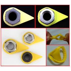 China Customized Safety Wheel Check Indicator Wheel Nut Markers For Lorry / Truck on sale