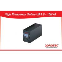 LCD 50Hz / 60Hz High Frequency Online UPS 3KVA / 2.1KW for Office