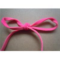 Rose Red Elastic Webbing Straps Jacquard Garment Accessories