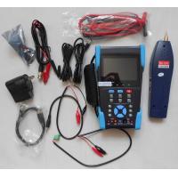 3.5 TFT-LCD CCTV IP Camera Tester , Optical Power Meter , TDR Test , Digital Multimeter