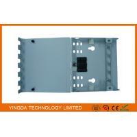 FTTx Mini 6 Port Fiber Optic Termination Box Flip Cover , Fiber Optic Joint Box