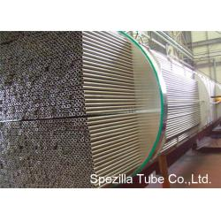 China Cold Drawn Seamless Copper Nickel Tube , SB111 C44300 Aadmiralty BrassTube on sale