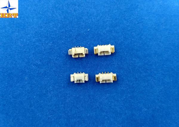 China SMT tined-plated pin wafer connector with 1.25mm pitch side entry type wafer connector supplier