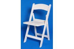 Chaise pliante blanche de r sine meubles sans bras modernes de chaise pour l - Chaise resine blanche ...