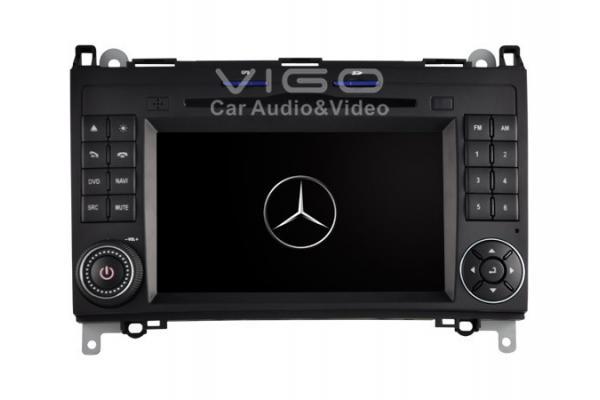 Sat nav dvd in car stereo auto radio for mercedes benz b for Mercedes benz car stereo