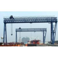Viaduct Overhead Launching Gantry Crane 42m Span 900t Max Load Capacity 380V / 50Hz