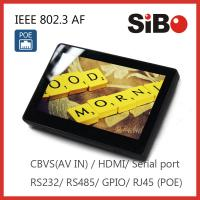 Flush Mount Android POE Touch Tablet With Camera Speaker Microphone