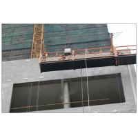 High rise maintenance painting steel ZLP630 suspended platform