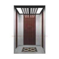 Floor PVC / Hairline Stainless Steel Elevator Cabin Decoration Car Design For Passenger Elevator