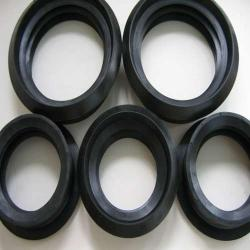 China Custom-make EPDM/MBR/CR material heat resistance pipe rubber gasket on sale