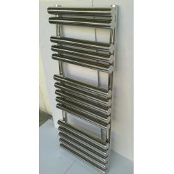 China Round Tube Heated Towel Radiators 50mm / Stainless Steel Towel Warmer on sale