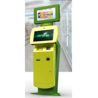 Card Printer Self Payment Kiosk floor standing , interactive display