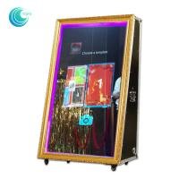 New magic selfie photo booth mirror chinese supplier cabina fotografica