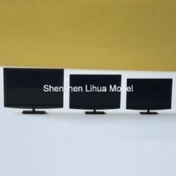 China model scale plastic  tv,1:25 model fake tv, architectural model accessories,model tv,building lights on sale