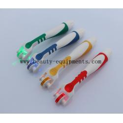 China Safe Derma Rolling System , Micro Needle Roller Therapy With Blue / Red / Yellow / Green LED Light on sale