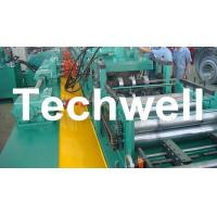 YX-86-194-312 W Beam Guardrail Roll Forming Machine For 2 - 4mm Material Thickness