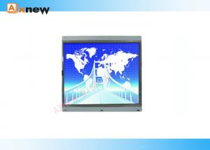 15 inch Industrial LCD Touch Screen Monitor , 1024x768 CCTV Display