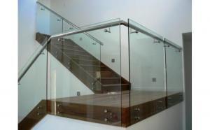 glass railing / stainless steel handrail fittings ...
