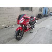 5 Speed Electric Kick Road Racing Motorcycles , Street Racing Motorbikes OEM