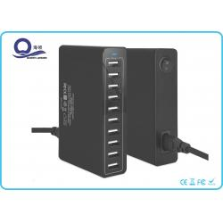 China 10 Ports Desktop Charging Station Multiple USB Charger with 50W 10A for iPhone 6 on sale