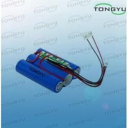 China 9.6V 1500mAh Rechargeable Lithium Batteries , Lithium Iron Phosphate Battery For Scuba Diving Light on sale