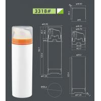 PP plastic cream airless bottle with airless pump, UniAirless dispenser MACRO round 150 ml