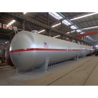 100cbm Liquid Propane Gas Tank , Horizontal Transporting Large Propane Tanks