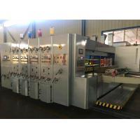Gray Color Automatic Carton Box Printing Slotting Die Cutting Machine /  Automatic Die Cutting Machine