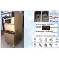 Single Flavour Automatic Frozen Yogurt Machines With 68L/H Capacity , 2P Horse Power