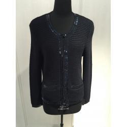 China Round Neck Oversized Knit Sweaters Long Sleeve With Computer Machine Knitting Pattern on sale