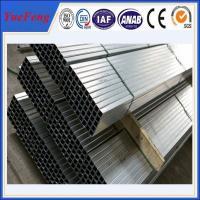 Aluminium extrusions alloy 6000 series anodizing extrusion profile aluminium tube